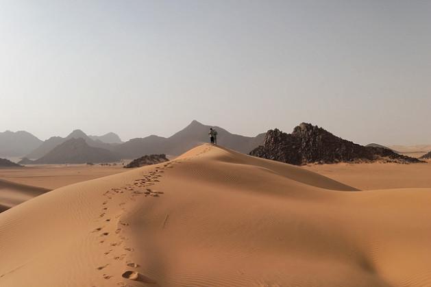 La región de Ténéré está conformada vastas planicies desérticas que se extienden desde el noreste de Níger hasta el oeste de Chad. Crédito: Photomatt28/CC BY 2.0