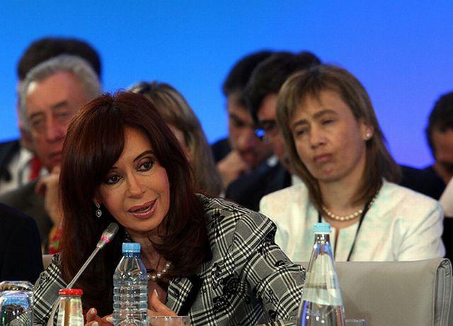 Cristina Fernández amplió medidas de lucha contra la pobreza tras suceder a su esposo, Néstor Kirchner. Presidencia de Argentina