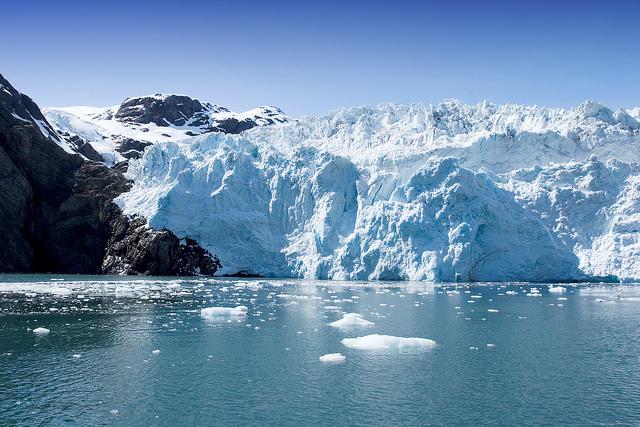 Glaciar Hubbard en Seward, Alaska. Crédito: Bigstock