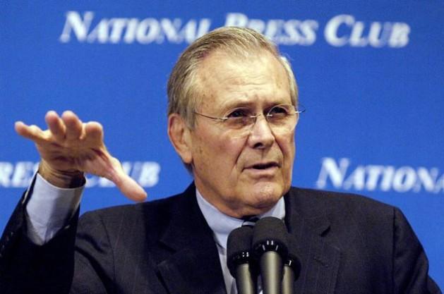 """La Comisión Rumsfeld advirtió en 1998 que Irán """"podría"""" poner en peligro a Estados Unidos. Crédito: Dominio público"""