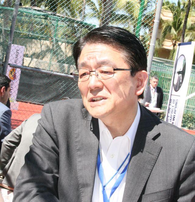 Hirotsugu Terasaki, vicepresidente de Soka Gakkai International y director ejecutivo sobre temas de paz, valoró en Nuevo Vallarta el avance hacia la adopción de un tratado que elimine las armas nucleares. Crédito: Cortesía Kimiaki Kawai