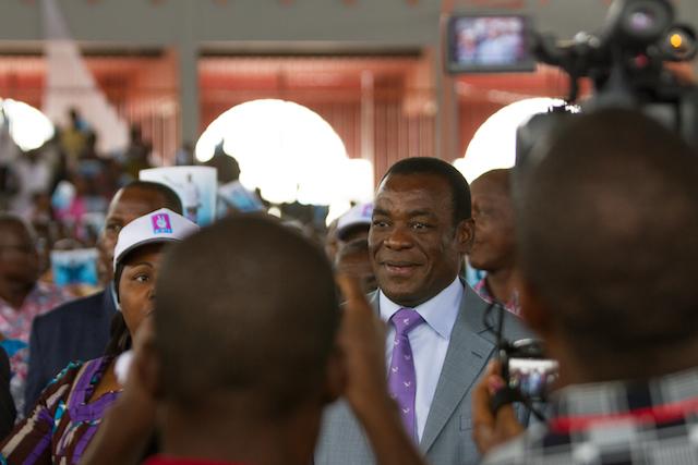 Pascal Affi N'Guessan, el nuevo presidente del FPI. Crédito: Marc-André Boisvert/IPS