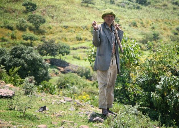 Según reportes sin confirmar, la población ogaden, principalmente pastoril, es expulsada de tierras cercanas a yacimientos de petróleo y gas en el sudoriente de Etiopía. Crédito: Rudolph Atallah/IPS.