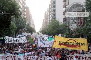 Unas 15.000 personas participaron el 20 de noviembre de 2013 de la Marcha de la Gorra, en la ciudad argentina de Córdoba, contra la arbitrariedad policial hacia los jóvenes, según su apariencia y condición. Crédito: Cortesía de Colectivo de Jóvenes por Nuestros Derechos