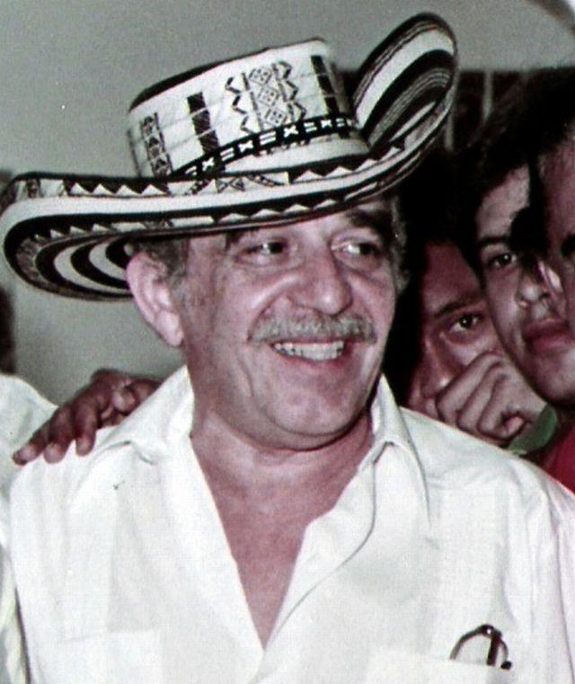 García Márquez fotografiado en 1984. Crédito: F3rn4nd0, editado por Mangostar C BY-SA 3.0