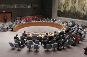 El Consejo de Seguridad de la ONU discute la situación en Siria el 26 de junio. Crédito: Foto de la ONU/Devra Berkowitz