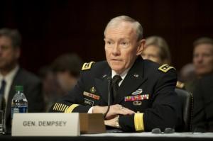 El general Martin Dempsey, jefe del Estado Mayor Conjunto. Crédito: Departamento de Defensa de Estados Unidos/dominio público