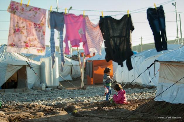 Más de 200.000 iraquíes huyeron de sus hogares desde el 3 de agosto, a medida que la violencia de los grupos armados se intensificaba, lo que llevó el total de desplazados en Iraq a 1,2 millones de personas. Crédito: Mustafa Khayat/CC-BY-ND-2.0