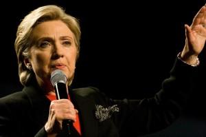 """Hillary Clinton """"se ubica a la derecha de la administración de Obama en temas de política exterior"""", según el estudio. Crédito: Brett Weinstein/cc by 2.0"""