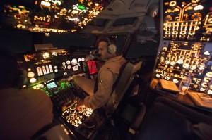 Pilotos de la Fuerza Aérea de Estados Unidos en misión contra el EI sobre el noreste de Iraq, el 2 de octubre. Crédito: Comando Central de la Fuerza Aérea de EEUU.