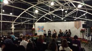 Especialistas latinoamericanos sobre transparencia y datos abiertos participan en un debate durante el Encuentro Regional de las Américas de la Alianza para el Gobierno Abierto, celebrado en la capital de Costa Rica. Crédito: Diego Arguedas Ortiz/IPS