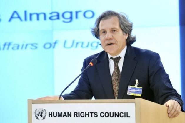 Luis Almagro, ministro de Relaciones Exteriores de Uruguay, en la 16ª sesión del Consejo de Derechos Humanos, en Ginebra, Suiza. Crédito: FOTO de la ONU/Jean-Marc Ferré