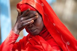 Una mujer en el campamento de desplazados de Kutum, en el norte de Darfur, en 2012. Crédito: Albert González Farran - Unamid