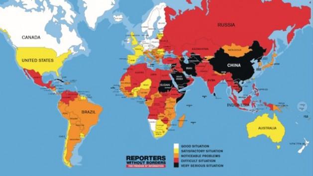 Fuente: Reporteros sin Fronteras
