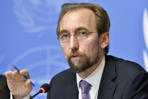 Alto Comisionado de la ONU para los Derechos Humanos, Zeid Ra'ad Al-Hussein. Crédito: Foto de la ONU/Jean-Marc Ferré
