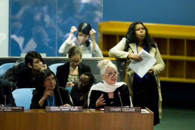 La 57 sesión de la Comisión de la Condición Jurídica y Social de la Mujer. Crédito: ONU/Rick Bajornas