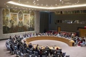 El debate del Consejo de Seguridad sobre la mujer, la paz y la seguridad en octubre de 2014. Crédito: ONU/Rick Bajornas