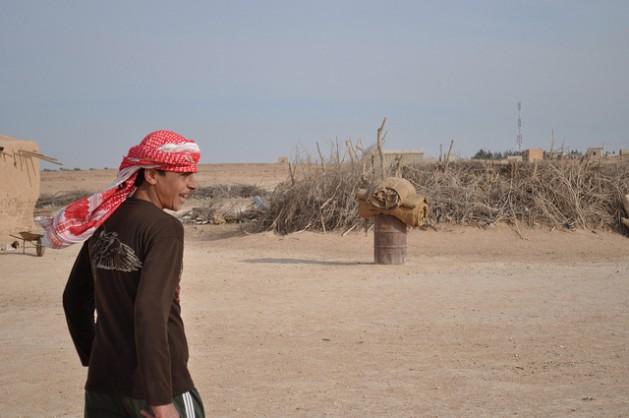 Una granja afectada por la sequía en Siria, en diciembre de 2010. Crédito: Caterina Donattini/IPS