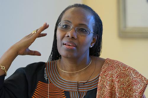 Fatoumata Nafo-Traoré, directora ejecutiva de la Asociación Roll Back Malaria (RBM). Crédito: Cortesía