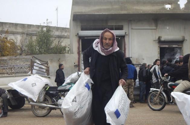 Más de 12 millones de personas en Siria necesitan asistencia humanitaria urgente. Crédito: Comisión Europea DG ECHO / CC-BY-ND 2.0
