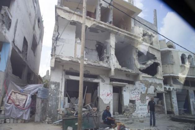 Secuelas del conflicto de 2014 en Gaza. Crédito: Eskinder Debebe/ONU