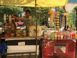 Se estima que India tiene 10 millones de vendedoras y vendedores callejeros. Crédito: Neeta Lal/IPS
