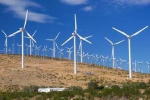 Uno de los 31 parques eólicos en operación en México. Para 2020 la capacidad instalada de esa energía renovable será de 15.000 megavatios en el país. Crédito: Cortesía de Dforcesolar
