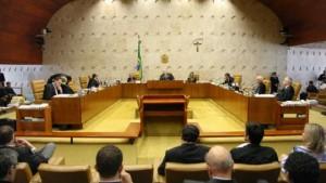 El Supremo Tribunal Federal de Brasil durante la lectura el 17 de septiembre del histórico fallo que prohíbe como inconstitucionales las leyes que hasta ahora facilitaban la financiación por las empresas de las campañas electorales. Crédito: STF