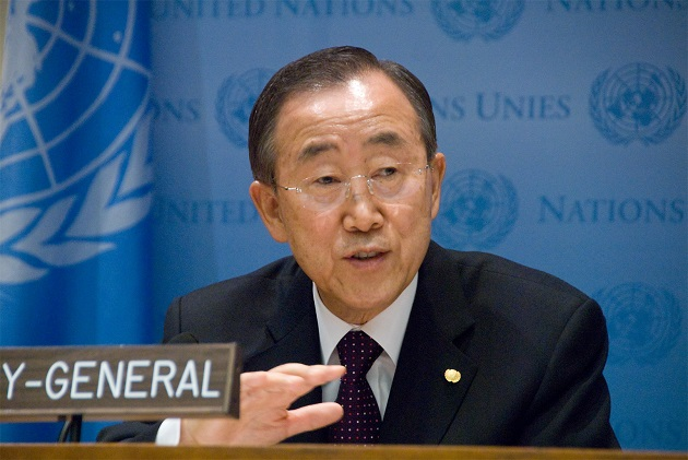 Secretario general de la ONU, Ban Ki-moon. Crédito: Bomoon Lee/IPS