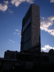 Edificio de la secretaría de la ONU, en Nueva York. Crédito: Haider Rizvi/IPS