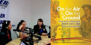 """La resolución 1325 del Consejo de Seguridad de la ONU """"es una idea revolucionaria"""", afirmó Mavic Cabrera, coordinadora internacional de la Red Mundial de Mujeres Constructoras de Paz. Crédito: www.gnwp.org"""