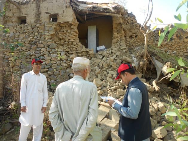 La provincia paquistaní de Jiber Pajtunjua fue la más afectada por el terremoto del 26 de octubre. Crédito: Ashfaq Yusufzai / IPS