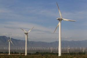 China se ha convertido en el líder mundial de la generación eólica, aunque todavía lo superan muchos países europeos al hacer el cálculo de la generación por persona. Crédito: Banco Asiático de Desarrollo