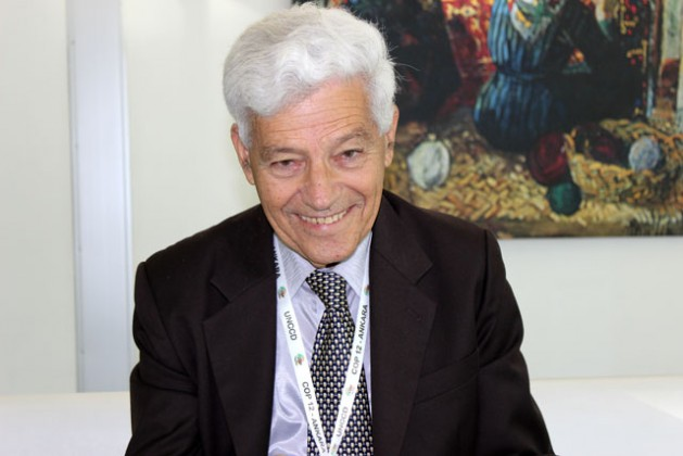 Uriel N Safriel, presidente de la Comisión de Ciencia y Tecnología de la Convención de las Naciones Unidas de Lucha contra la Desertificación. Crédito: Manipadma Jena/IPS.