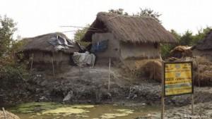 La alguicultura es una nueva forma de ingresos para muchas mujeres y sus familias en el nordeste de India. Crédito: Oishanee Ghosh