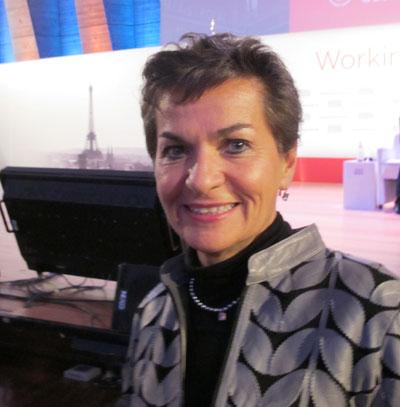 La directora ejecutiva de la CMNUCC, Christiana Figueres. Crédito: A.D. McKenzie / IPS