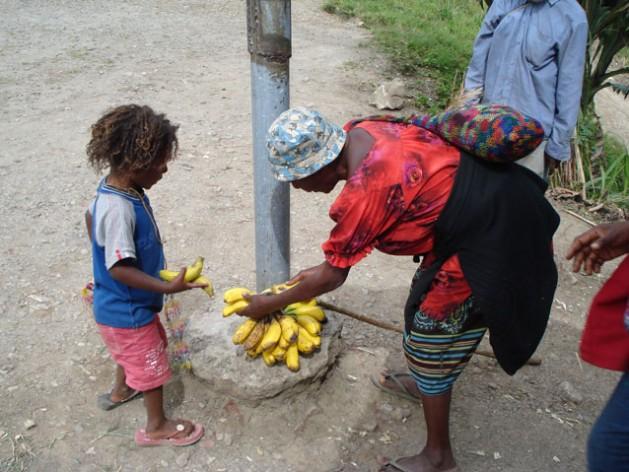 """""""Mejorar la nutrición de niños y niñas es fundamental para que Papúa Nueva Guinea logre avances hacia la concreción de los Objetivos de Desarrollo Sostenible"""". Crédito: Catherine Wilson/IPS."""