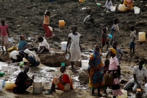 Campamento de refugiados de Jamam, en Sudán del Sur. Crédito: Jared Ferrie/IPS.