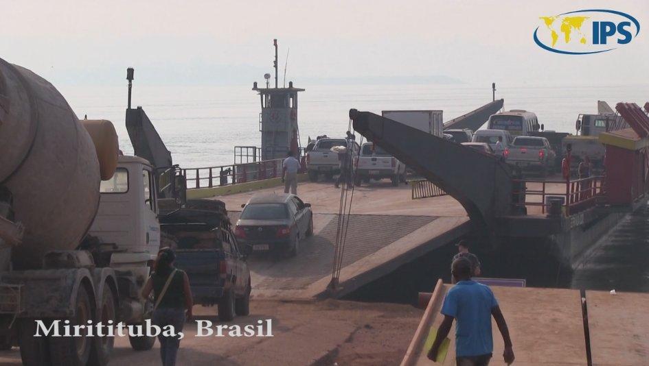 Miritituba, Brasil, del brillo del oro al de los puertos