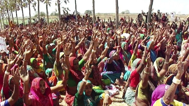 Mujeres de Gujarat, India. Crédito: Krishnakant/IPS.