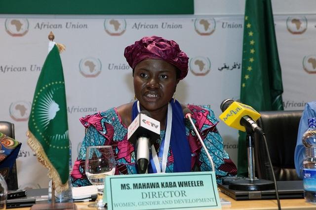 Mahawa Kaba Wheeler, directora de Mujeres, Género y Desarrollo de la Comisión de la Unión Africana. Crédito: Cortesía de la Comisión de la Unión Africana