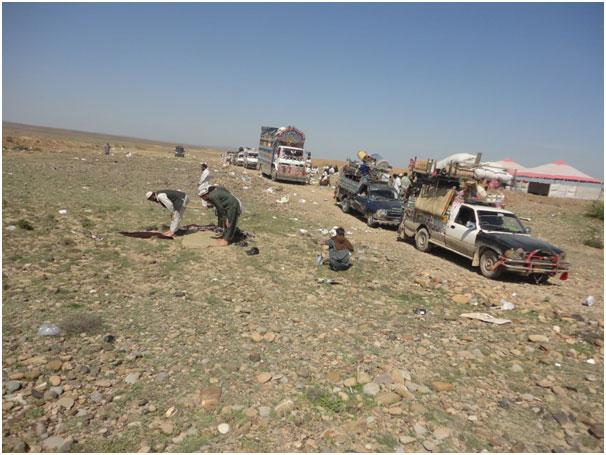 Las personas desplazadas de las áreas tribales de Pakistán regresan a sus casas tras la exitosa operación militar que expulsó al Talibán de la zona. Crédito: Ashfaq Yusufzai/IPS.