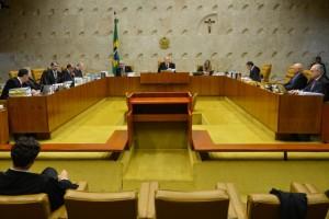 Parte de los magistrados del Supremo Tribunal Federal de Brasil, durante una sesión el 3 de marzo, en su sede en Brasilia, la capital del país. Crédito: Antonio Cruz/ Agência Brasil