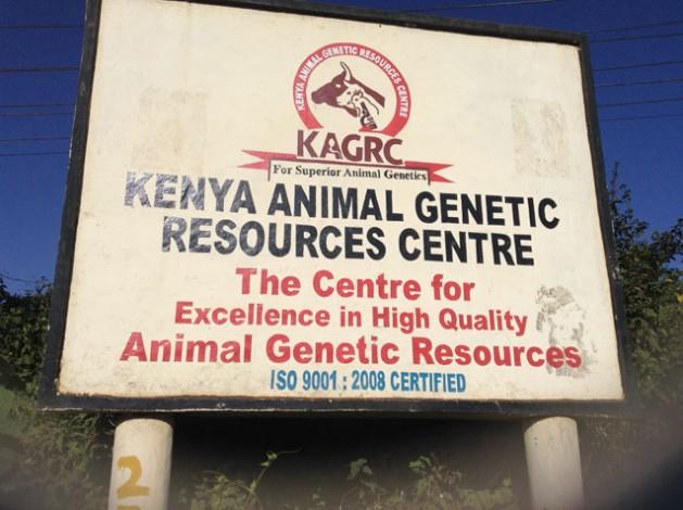 Centro de Recursos Genéticos Animales, con sede en Nairobi. Crédito: Justus Wanjala/IPS.