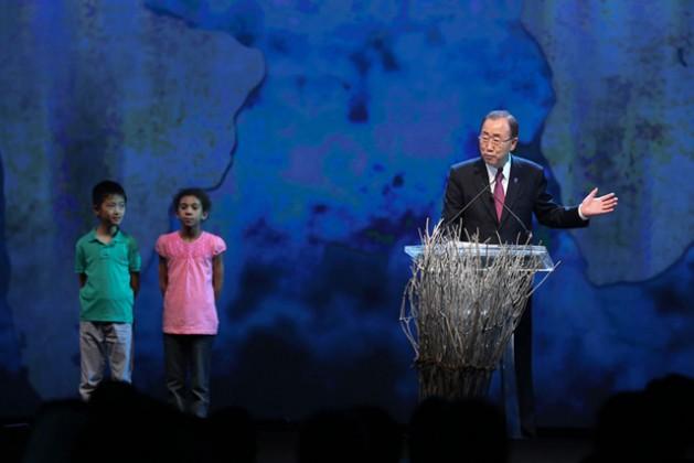 Secretario general de la ONU, Ban Ki-moon, en 2016. Crédito: ONU.
