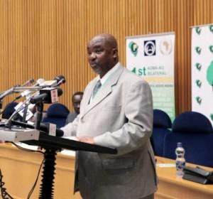 Olabisi Dare, director de la división de Asuntos Humanitarios, Refugiados y Personas Desplazadas en la Comisión de la Unión Africana.