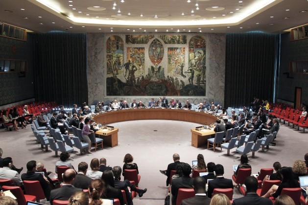El Consejo de Seguridad de la ONU debate en 2013 sobre la protección de periodistas en conflictos armados. Crédito: UN Photo/JC McIlwaine.
