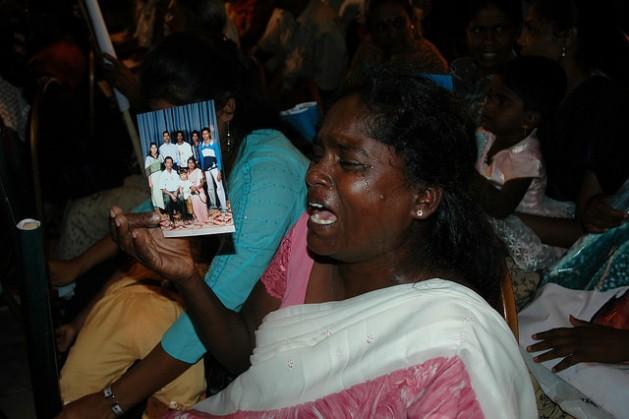 El gobierno de Sri Lanka reconoció que podrían haber 65.000 personas desaparecidas tras las más de dos décadas y media de guerra civil. Crédito: Amantha Perera/IPS.