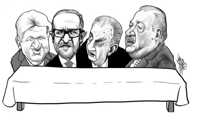 Los cuatro multimillonarios más poderosos de México que se reparten el banquete minero Crédito: Rafel Pineda/Pie de Página