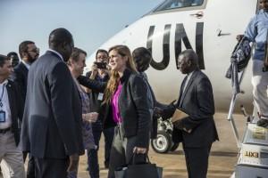 Una delegación del Consejo de Seguridad de la ONU visitó Sudán de Sur a principios de septiembre de 2016. Crédito: Isaac Billy/UN Photo.